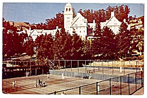 California: Tennis, Hotel Claremont, Berkeley