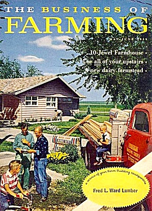 1959 Lumber, Farm Building, Remodeling Magazines, Set Of Two