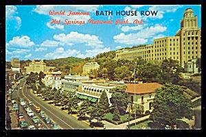 ARKANSAS: Bath House Row, Hot Springs  (Image1)