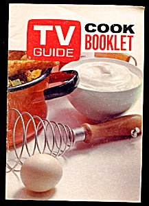 Tv Guide Cook Booklet -- 1970