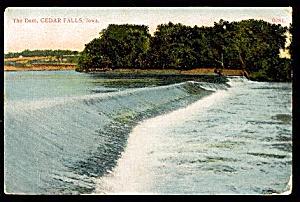 IOWA: The Dam on Cedar River, Cedar Falls  (Image1)