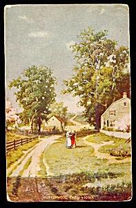 IOWA: Buttonwood Farm, Costumed Women (Image1)