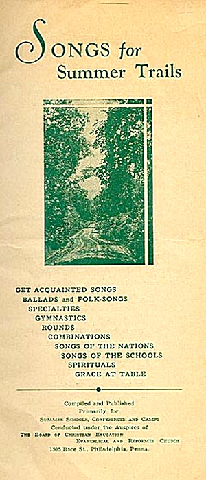 Songs for Summer Trails, Church Camps (Image1)