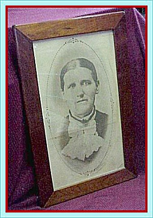 Solid Oak Frame, Grandma's Photo (Image1)