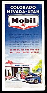 1962 MOBIL CO-NV-UT Road Map (Image1)
