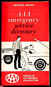 1968 Aaa Emergency Service Directory