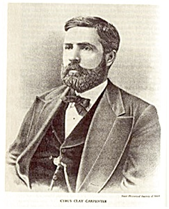 Iowa Governor Cyrus Carpenter, 1854-1898 (Image1)