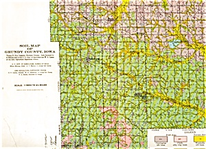 Soil Survey - Grundy County Iowa