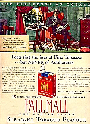 Pall Mall, 15� Package, No Adulterants (Image1)