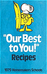1979 Homemakers Schools Cookbook