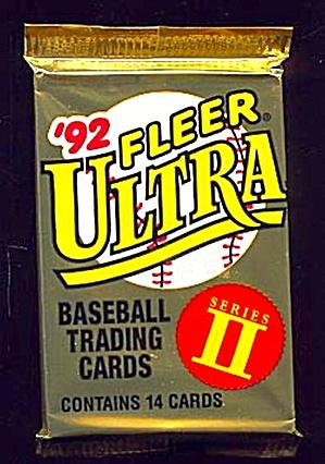 1992 Fleer Ultra Baseball Cards Series Ii Lot Of 42 Unopened Packs