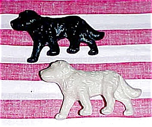 Matching Pair of Dog Figures, 1950s era (Image1)