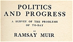 Politics & Progress - Survey of the Problems (Image1)