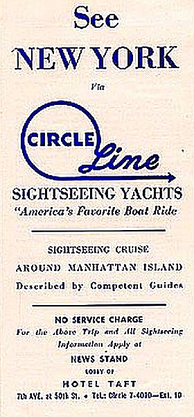 1950s Nyc Circle Line Sightseeing Yachts