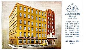 Clarendon Hotel, Quebec, Canada, 1950s (Image1)