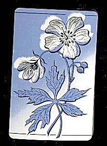 Playing Cards - Blue Flowers