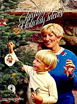 Avon BEAUTIFUL HOLIDAY IDEAS, 1980. Projects, Recipes to Keep Traditions (Image1)