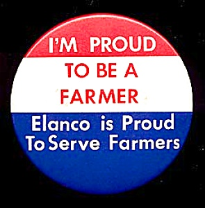 ELANCO, Proud to be a Farmer Button (Image1)
