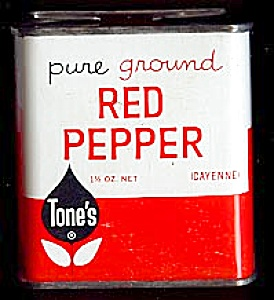 Tone's Red Pepper Tin