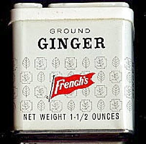 French's Ground Ginger Tin