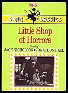 Little Shop Of Horrors, Jack Nicholson, Vhs