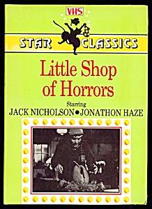 Little Shop of Horrors, Jack Nicholson, VHS (Image1)