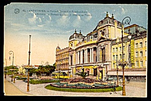 1929 BELGIUM, ANTWERP: Anvers Lyric Theatre (Image1)
