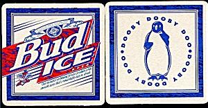 BUD ICE Dooby Doo Beer Coaster (Image1)