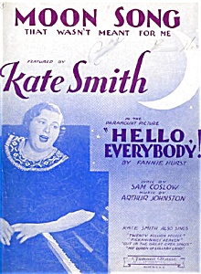 Kate Smith: Moon Song, Movie Music