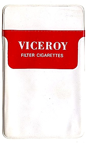 1960s Viceroy Cigarettes Pocket Protector