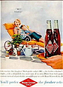 1959 Rc Cola: The Fresher Refresher