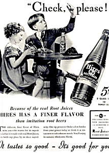 1937 Hires Root Beer � CUTE! (Image1)