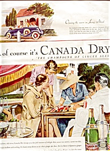 1937 Canada Dry Ginger Ale