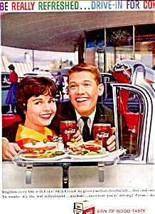 1959 Drive In For Coke