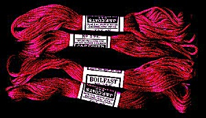 Vintage Embroidery Floss, JP Coats Deep Red #59C (Image1)