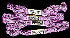 Vintage Embroidery Floss, JP Coats #54, Orchid (Image1)