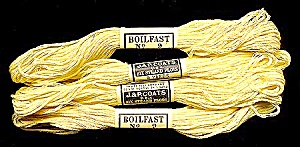 Vintage Embroidery Floss � Light Yellow (Image1)