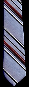 Contemporary Look: Blue/Brown Stripes (Image1)