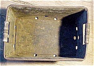 Vintage Store Tin Delivery Basket (Image1)