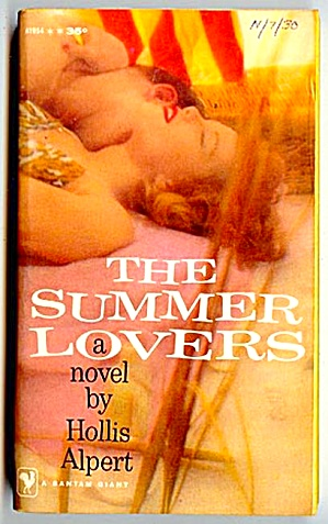 Summer Lovers By Hollis Alpert; Bantam 1959
