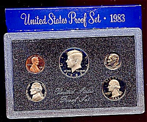 1983 U. S. Proof Coin Set