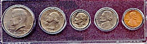 1978 5-Coin Set in Plastic Holder (Image1)