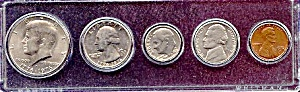 1976 5-Coin Bicentennial Set in Plastic Holder (Image1)