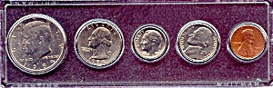 1984 5-Coin Set in Plastic Holder (Image1)