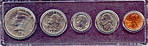 1992 5-Coin Set in Plastic Holder (Image1)