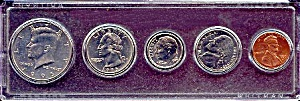1995 5-Coin Set in Plastic Holder (Image1)