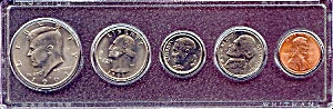 1991 5-Coin Set in Plastic Holder (Image1)