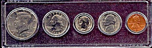 1990 5-Coin Set in Plastic Holder (Image1)