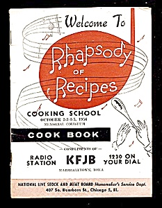 KFJB Radio Cooking School, 1956, Marshalltown IA (Image1)