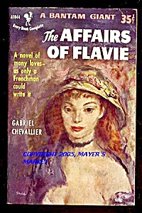 Affairs Of Flavie: Frenchman's Story Of Many Loves